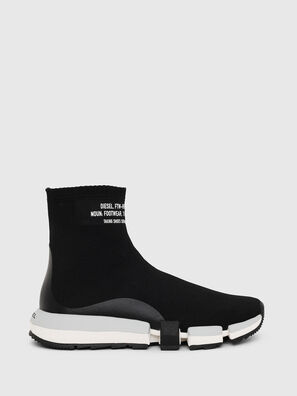 H-PADOLA HIGH SOCK W, Black - Sneakers