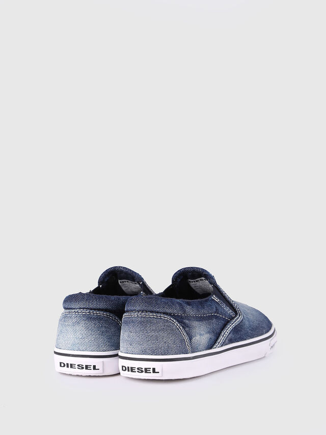KIDS SLIP ON 21 DENIM CH, Blue Jeans - Footwear - Image 3