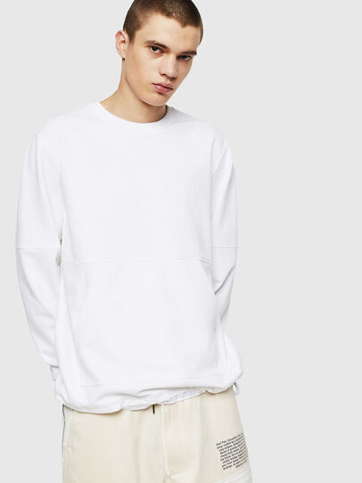 Diesel - S-MENKOV, White - Sweaters - Image 1