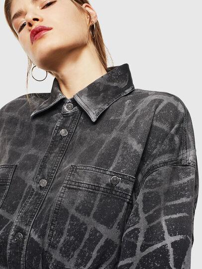 Diesel - D-PINKIES-SP JOGGJEANS, Black/Dark grey - Dresses - Image 3