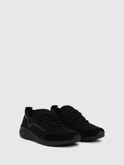 Diesel - S-KBY STRIPE W, Black - Sneakers - Image 2