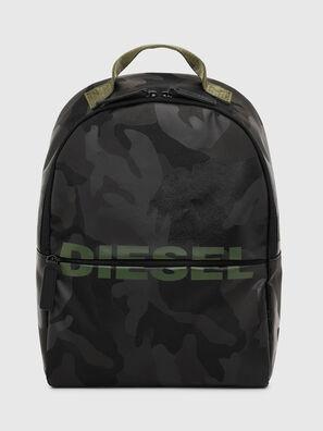 BOLD BACKPACK, Black/Green - Bags
