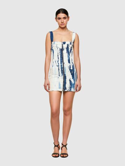 Diesel - DE-VOLCANO-SP, White/Blue - Dresses - Image 1