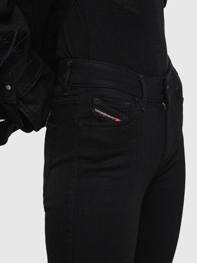 Diesel - Slandy Zip 069EF, Black/Dark grey - Jeans - Image 3