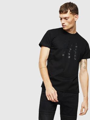 T-DIEGO-J8, Black - T-Shirts