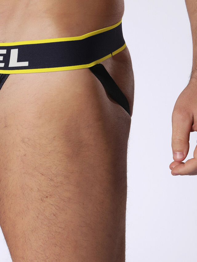 Diesel - 55-DJOCK, Blue/Yellow - Briefs - Image 3