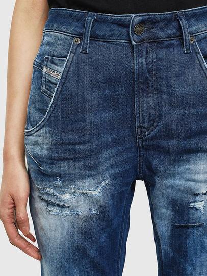 Diesel - Fayza JoggJeans 0099S, Dark Blue - Jeans - Image 3