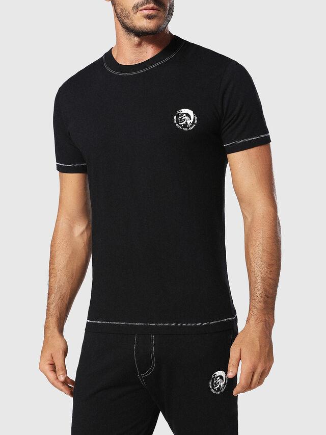 Diesel - UMLT-JAKE, Black - T-Shirts - Image 1