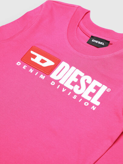 Diesel - TJUSTDIVISIONB ML-R, Pink - T-shirts and Tops - Image 3