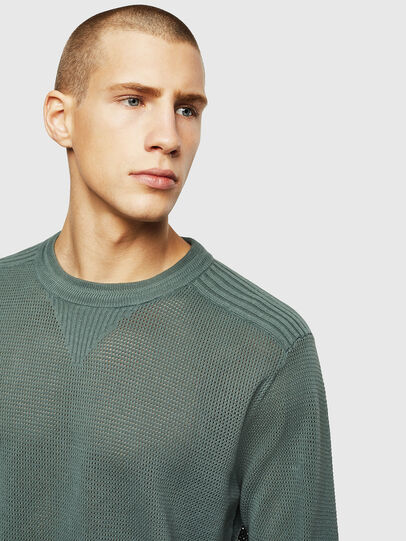 Diesel - K-RIO, Olive Green - Knitwear - Image 3