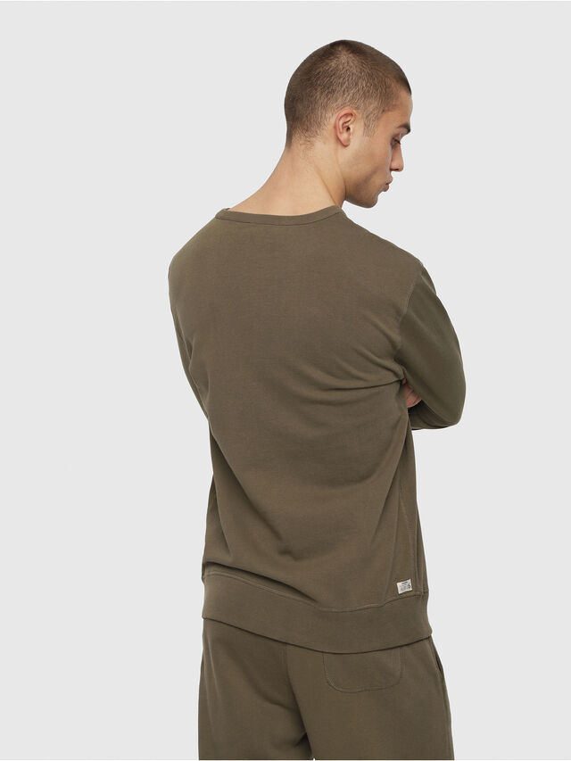 Diesel UMLT-WILLY, Military Green - Sweaters - Image 2