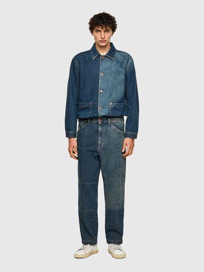 Diesel - D-FRAN-SP, Medium blue - Pants - Image 5