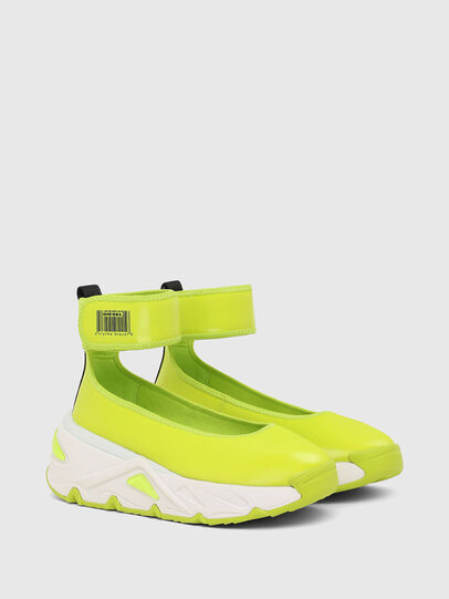 Diesel - S-HERBY BA W, Yellow - Flats - Image 2