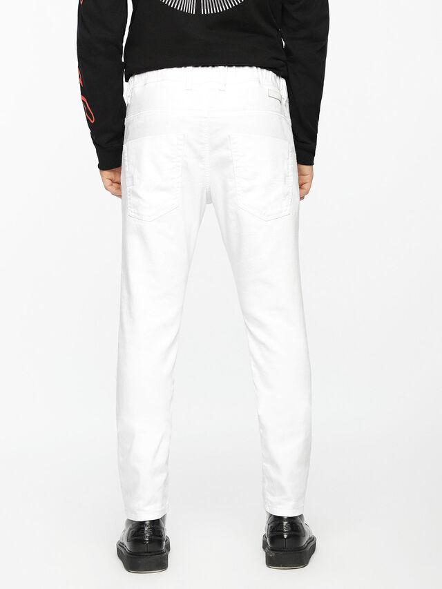 Diesel - Krooley JoggJeans 0684U, White - Jeans - Image 3