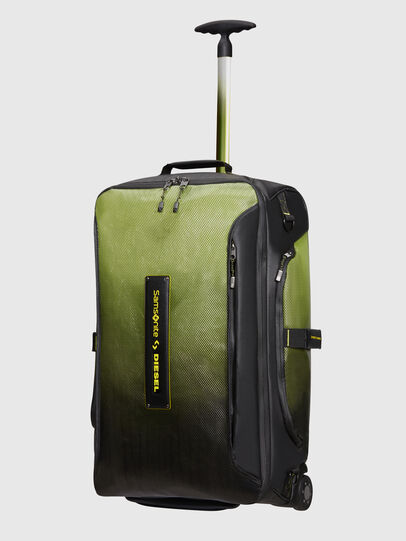 Diesel - KA2*69009 - PARADIVE, Black/Yellow - Duffles with wheels - Image 1