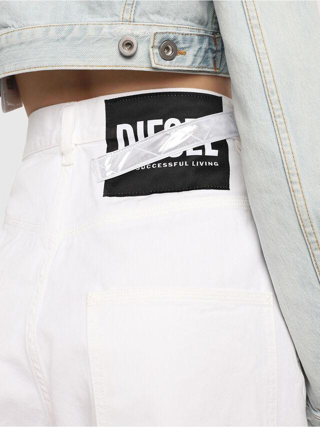 Diesel - D-Luite 069EE, White - Jeans - Image 4