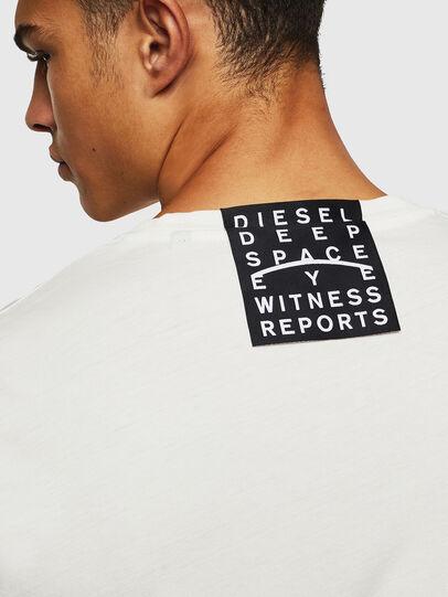 Diesel - T-DIEGO-J5, White - T-Shirts - Image 8