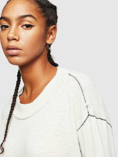Diesel - M-CURRI, White - Knitwear - Image 3