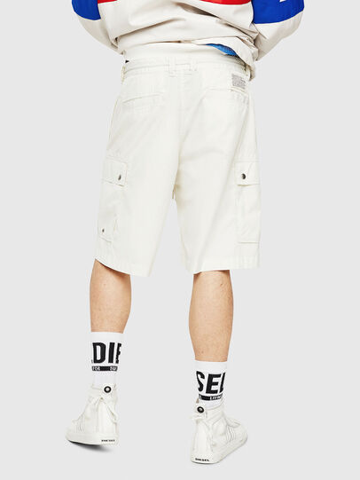 Diesel - P-AIMI-P, White - Shorts - Image 2