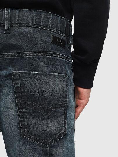 Diesel - D-KROOSHORT JOGGJEANS, Dark Blue - Shorts - Image 7