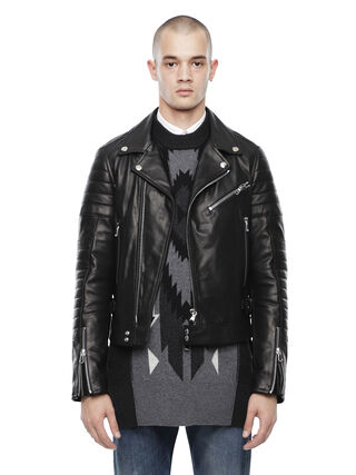 LOCHECK,  - Leather jackets