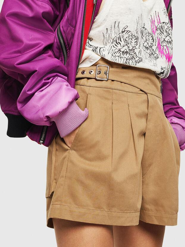 S-BISA, Light Brown - Shorts