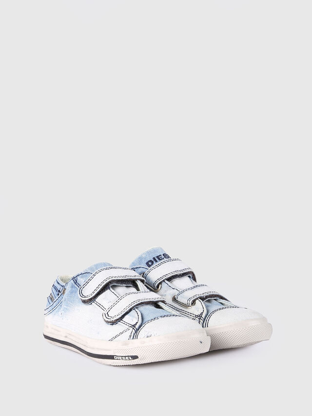 Diesel - SN LOW STRAP 11 DENI, Light Blue - Footwear - Image 2