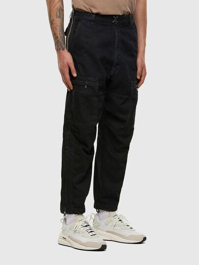 Diesel - D-Luks 009IB, Dark Blue - Jeans - Image 5