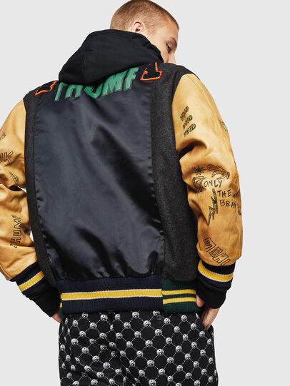 Diesel - L-ANTON, Black - Leather jackets - Image 2