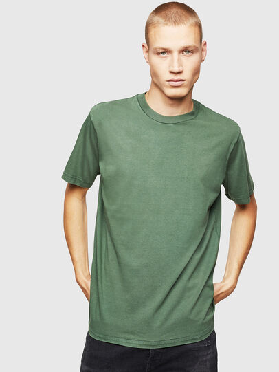 Diesel - T-THURE, Green - T-Shirts - Image 1