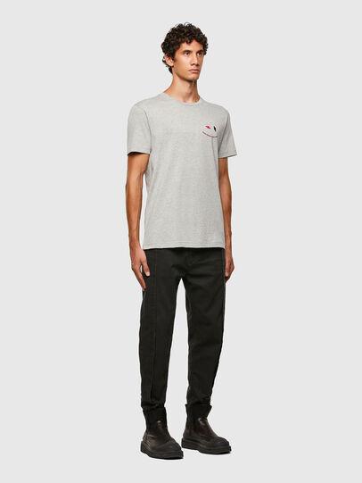Diesel - T-DIEGOS-N28, Grey - T-Shirts - Image 5
