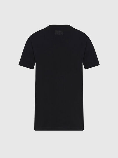 Diesel - T-SILY-E56, Black - T-Shirts - Image 2