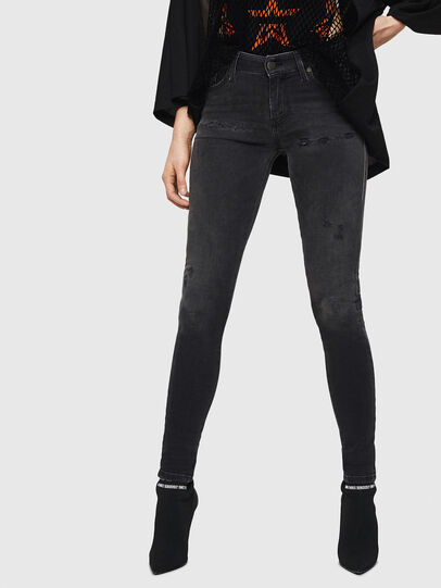 Diesel - Slandy 069GI, Black/Dark grey - Jeans - Image 1