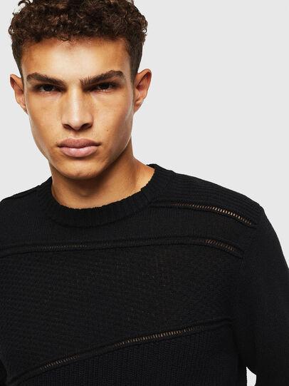Diesel - K-PATHY, Black - Knitwear - Image 3
