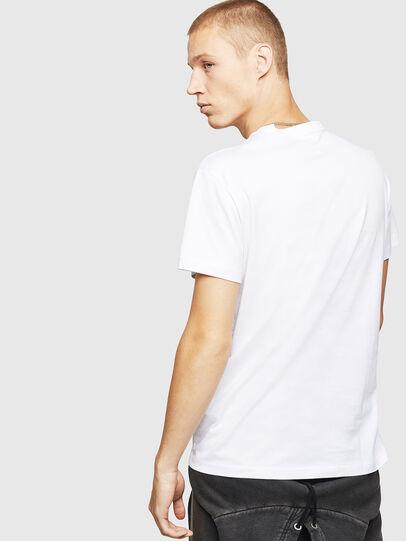 Diesel - T-DIEGO-B17, White - T-Shirts - Image 2