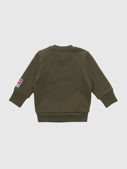 Diesel - SCREWDIVISIONB-D, Military Green - Sweaters - Image 2