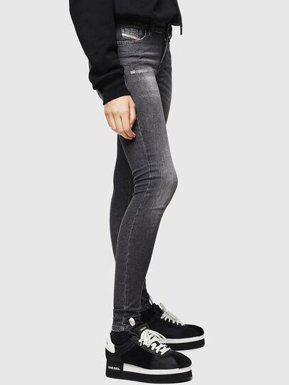 Diesel - Slandy 083AJ, Black/Dark grey - Jeans - Image 4