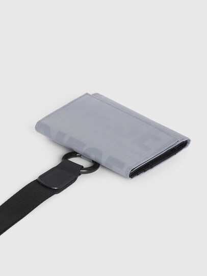 Diesel - YOSHINO LOOP II, Grey - Small Wallets - Image 4