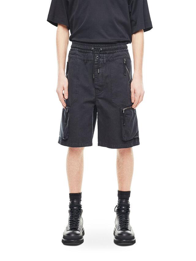 Diesel - PHILOS, Black - Shorts - Image 1