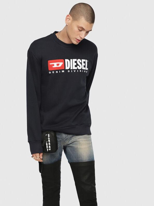 S-CREW-DIVISION, Dark Blue - Sweaters