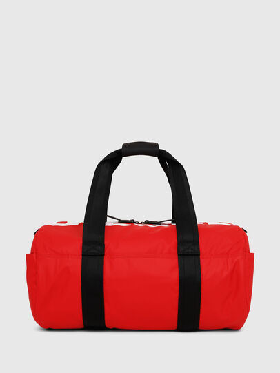 Diesel - F-BOLD DUFFLE, Red - Travel Bags - Image 1