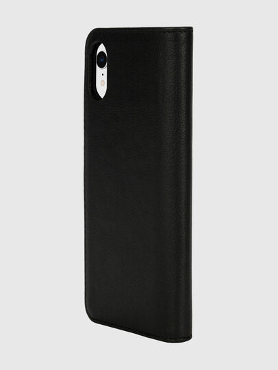 Diesel - DIESEL 2-IN-1 FOLIO CASE FOR IPHONE XR, Black/White - Flip covers - Image 5