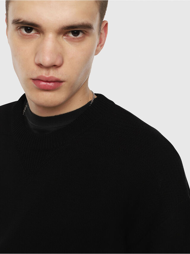 Diesel - K-MELT, Black - Knitwear - Image 3