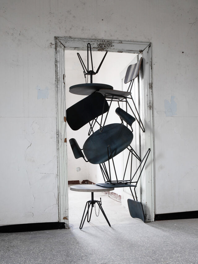 Living DL0F01 OVERDYED, Indigo - Chairs - Image 4