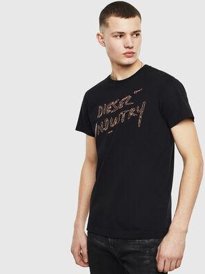 T-DIEGO-S15, Black - T-Shirts