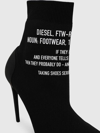 Diesel - D-SLANTY HAB, Black - Ankle Boots - Image 4