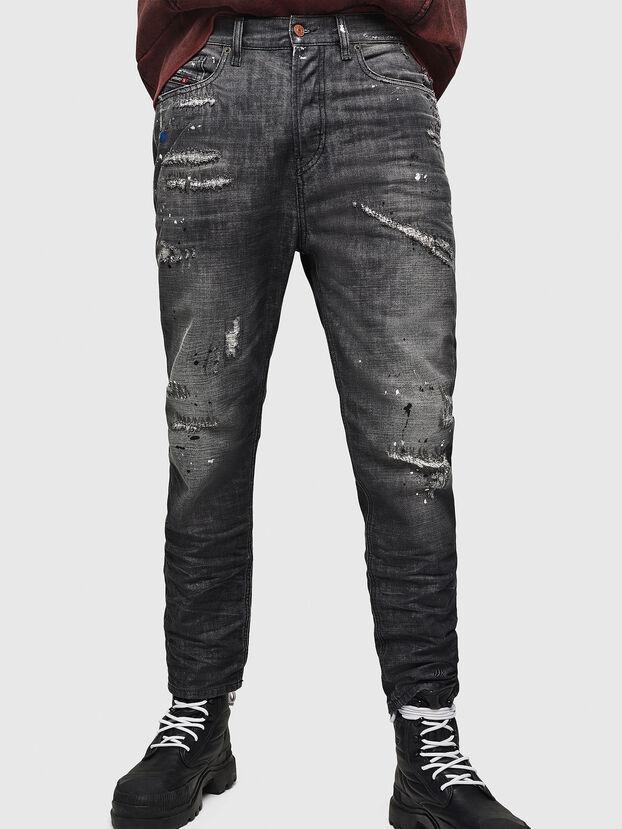D-Vider 083AB, Black/Dark grey - Jeans