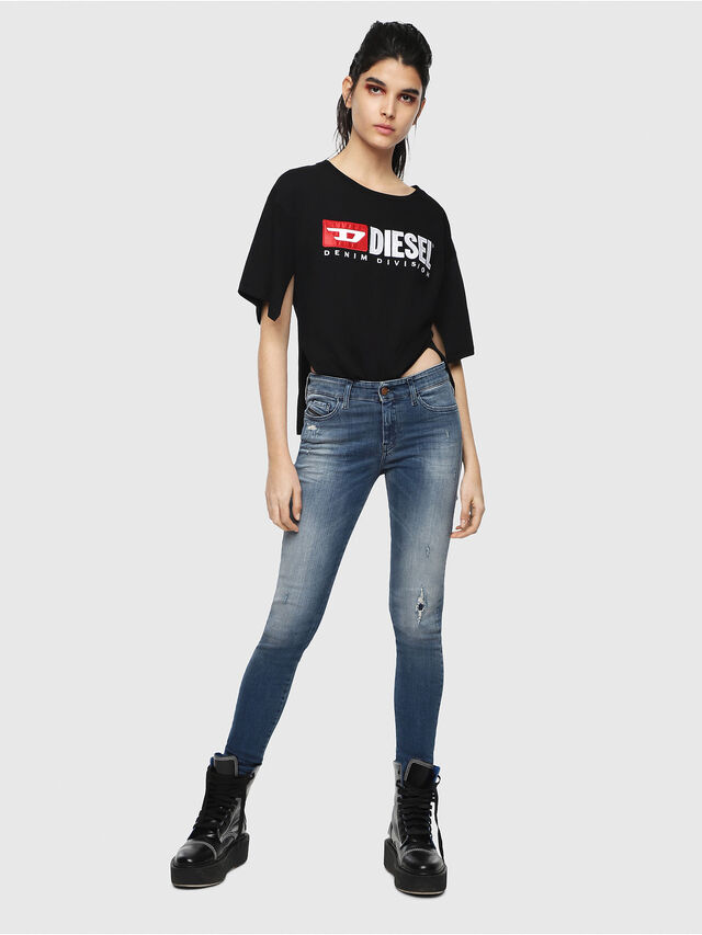 Diesel - Slandy 084MU, Medium blue - Jeans - Image 4