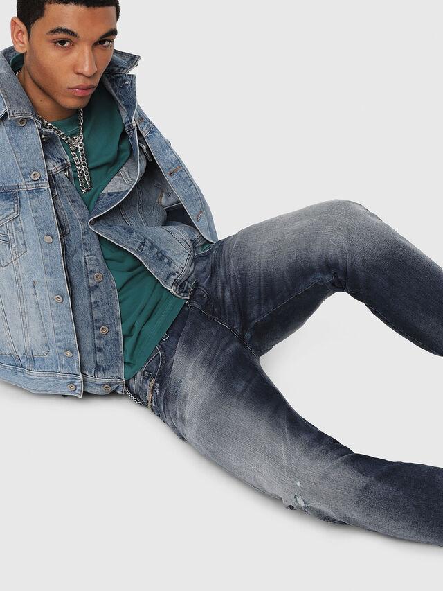 Diesel - D-Bazer 084DD, Medium blue - Jeans - Image 4