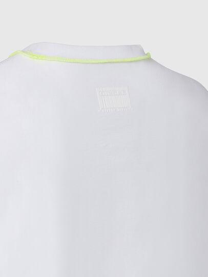 Diesel - T-JUSEAM, White - T-Shirts - Image 4